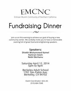 EMCNC Fundraising Flyer